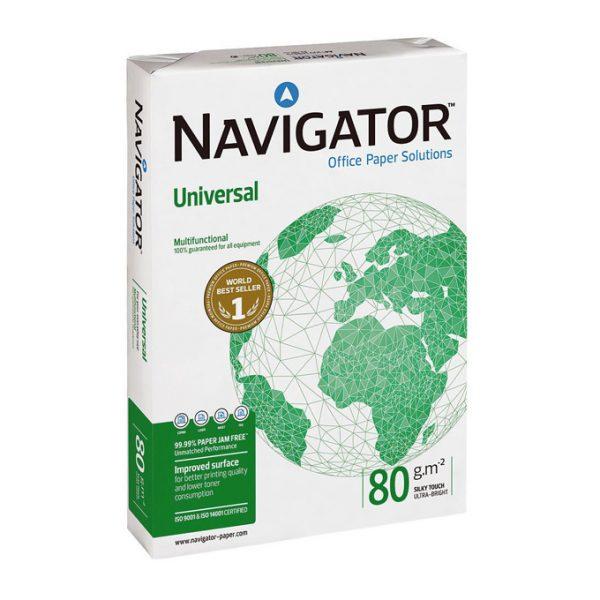 NAVIGATOR UNIVERSAL RAMETTE 500F PAPIER A4 80G