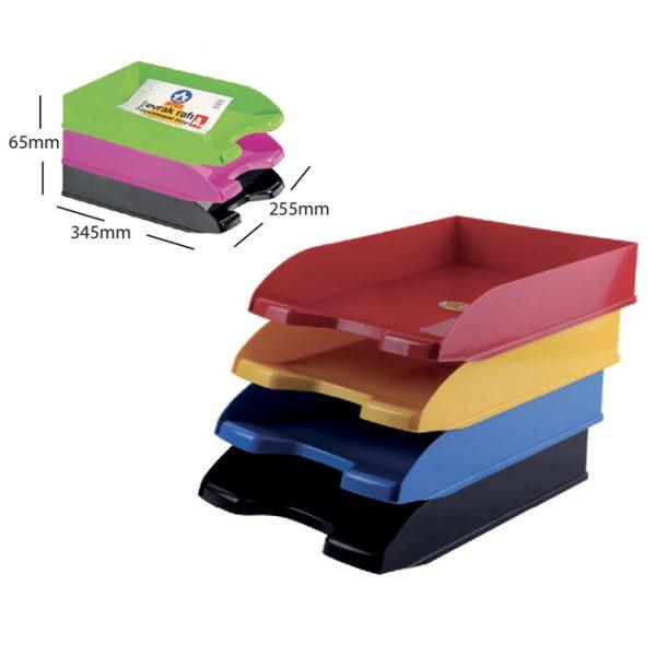 Panier à courrier en plastique ARK