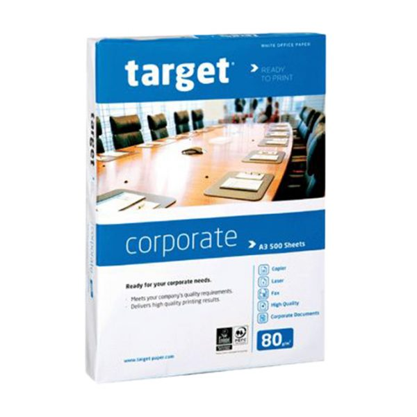 Target corporate ramette de 500 feuilles A3 80g